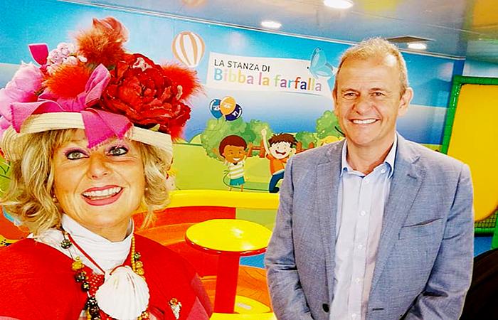 """Zia Caterina, la fatina toscana dei bimbi, ha inaugurato la nuova area giochi della """"Elio"""""""