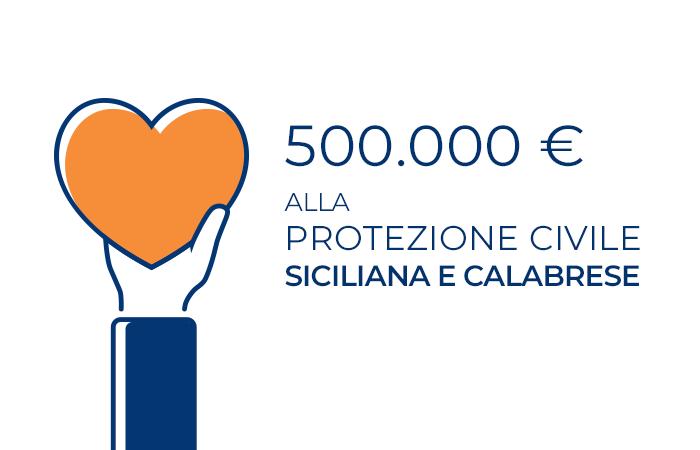 Caronte & Tourist dona 500mila euro