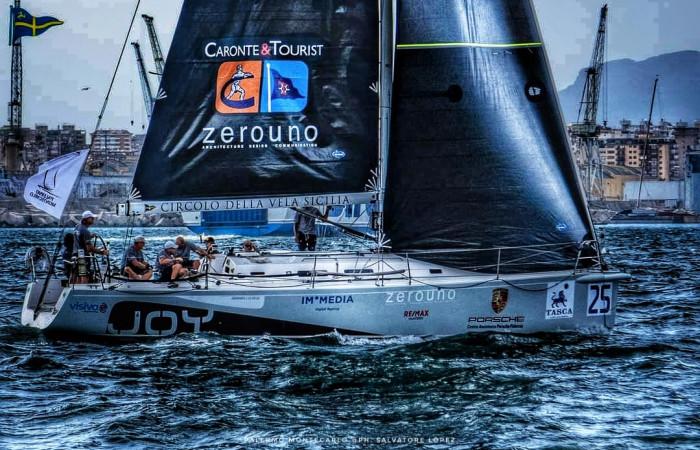 Joy trionfa nella regata Palermo-Montecarlo