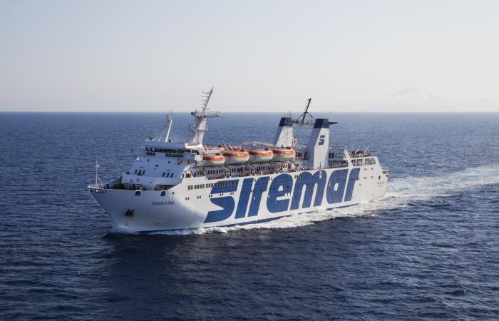 Controesodo, viaggio straordinario Siremar sulla tratta Milazzo-Eolie