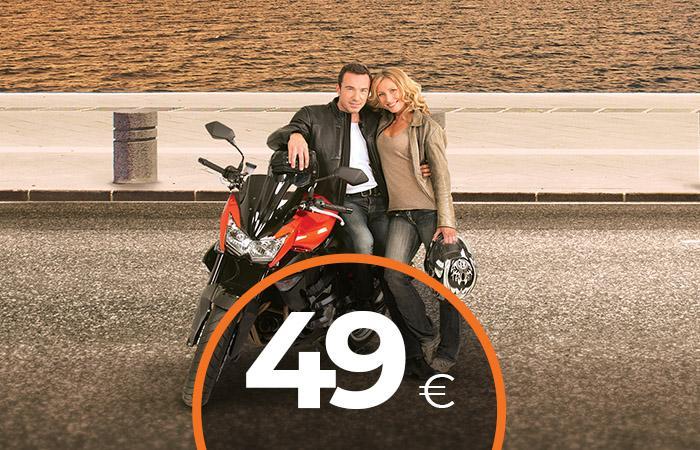 Moto a partire da 49€